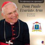 Falece o cardeal Paulo Evaristo Arns