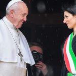 Papa visita o Capitólio: Roma é cidade de pontes, jamais de muros