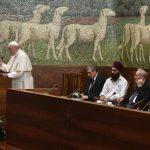 Papa: além de uma mensagem de paz, a paz como mensagem